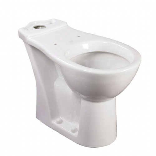 Raised Height Close Coupled Toilet Pan (750mm projection)